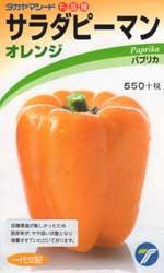 サラダピーマン オレンジ